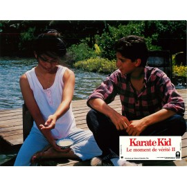 LE MOMENT DE VÉRITÉ II (KARATE KID) - Photo exploitation - 1986 - Ralph Macchio, Pat Morita