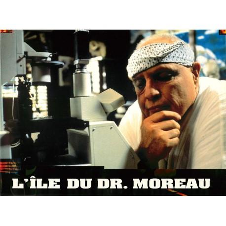 L'ILE DU DOCTEUR MOREAU - Photo exploitation - 1996 - Marlon Brando, Val Kilmer, John Frankenheimer