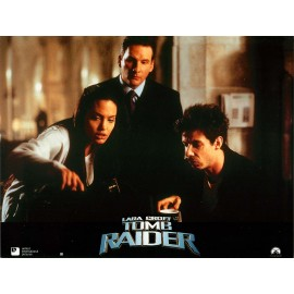 LARA CROFT TOMB RAIDER - Photo exploitation - 2001 - Angelina Jolie, Jon Voight, Daniel Craig