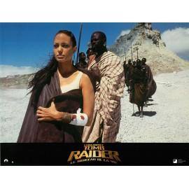 LARA CROFT TOMB RAIDER LE BERCEAU DE LA VIE - Photo exploitation - 2001 - Angelina Jolie, Gerard Butler