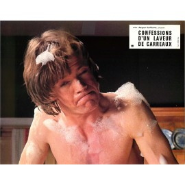 CONFESSIONS D'UN LAVEUR DE CARREAUX - Jeu de 6 photos - 1974 - Val guest, Robin Askwith