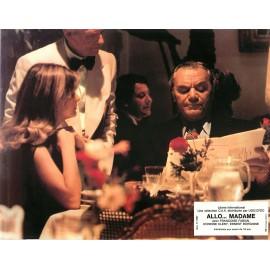 ALLO.... MADAME - Jeu de 5 photos - 1976 - Ernest Borgnine, Françoise Fabian