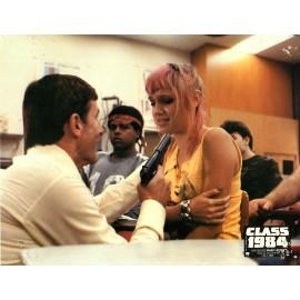 CLASS 1984 - Photo exploitation - 1982 - Mark L. Lester, Perry King, Michael J. Fox