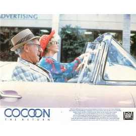 COCOON 2 LE RETOUR - Photo exploitation - 1988 - Daniel Petrie, Courteney Cox