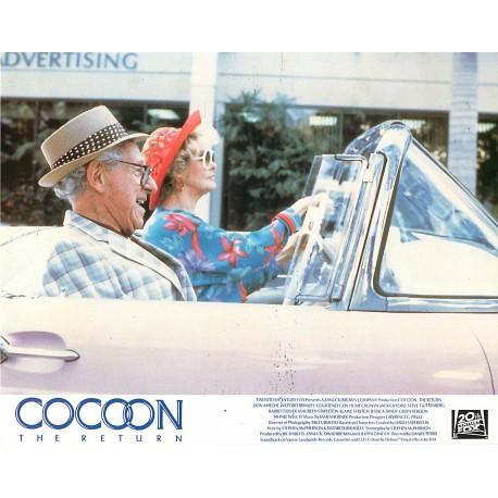 COCOON 2 LE RETOUR - Photo exploitation - 1988 - Daniel Petrie, Courteney Cox