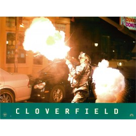 CLOVERFIELD - Jeu de 4 photos - 2008 - Matt Reeves, Mike Vogel, Jessica Lucas