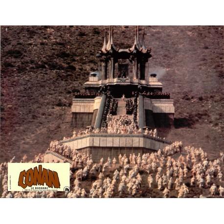 CONAN LE BARBARE - Photo exploitation - 1982 - John Milius, Arnold Schwarzenegger, James Earl Jones