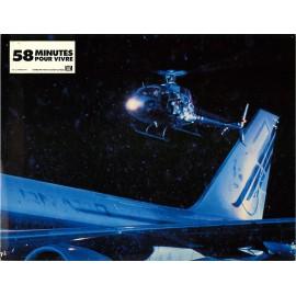 58 MINUTES POUR VIVRE - Photo exploitation - 1990 - Renny Harlin, Bruce Willis, Franco Nero