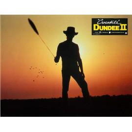 CROCODILE DUNDEE II - Photo exploitation - 1988 - John Cornell, Paul Hogan, Linda Kozlowski
