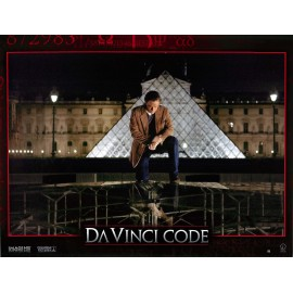 DA VINCI CODE - Jeu de 7 photos d'exploitation - 2006 - Ron Howard, Tom Hanks, Audrey Tautou, Jean Reno
