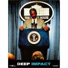 DEEP IMPACT - Photo exploitation - 1998 - Robert duvall, Téa Leoni, Elijah Wood, Morgan Freeman