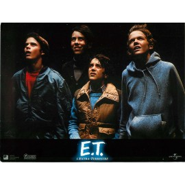 E.T. L'EXTRA-TERRESTRE - Photo exploitation - 1982 - Steven Spielberg, Drew Barrymore, Henry Thomas