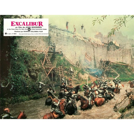 EXCALIBUR - Photo exploitation - 1981 - John Boorman
