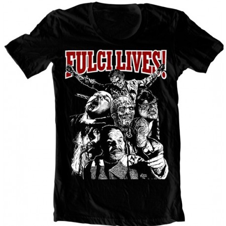 "T-Shirt ""Fulci Lives"""