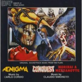 Aenigma / Conquest / Morirai A Mezzanotte (Carlo Cordio & Claudio Simonetti) Soundtrack
