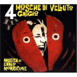Quatre Mouches de Velours Gris (4 Mosche di Velluto Grigio) (Ennio Morricone) Digipack Soundtrack