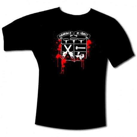 "T-Shirt ""BLASON TEXAS"" Noir"