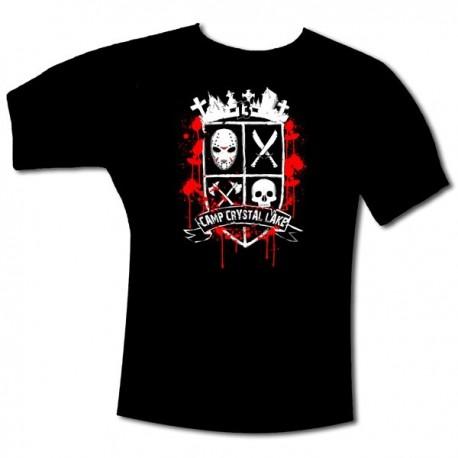 """T-Shirt """"BLASON 13"""" Noir"""