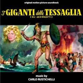 i Giganti della Tessaglia (Carlo Rustichelli) CD Soundtrack