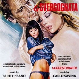 La svergognata - Suggestionata (Berto Pisano / Carlo Savina) CD Soundtrack