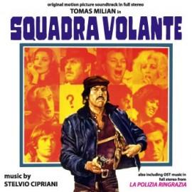 Squadra volante - La polizia ringrazia (Stelvio Cipriani) CD Soundtrack