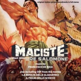 Maciste dans les mines du roi Salomon / The Arena / Le retour du fils du sheik (Francesco De Masi) CD Soundtrack