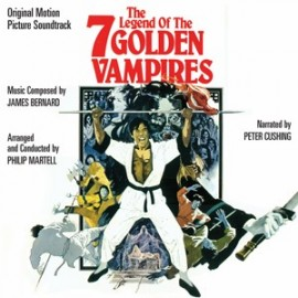 The Legend of the 7 Golden Vampires (James Bernard) Soundtrack