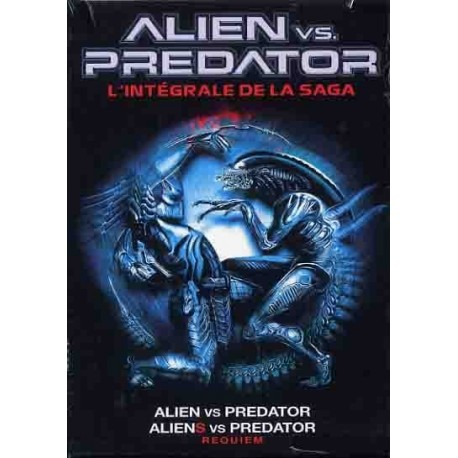 Alien Vs Predator / Aliens Vs Predator Requiem Double DVD