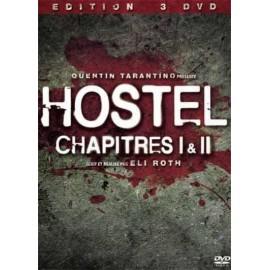 Hostel Chapitres I et II 3 DVDs !