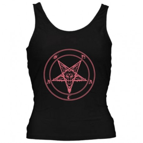 """T-Shirt Girlie """"Pentagram"""""""