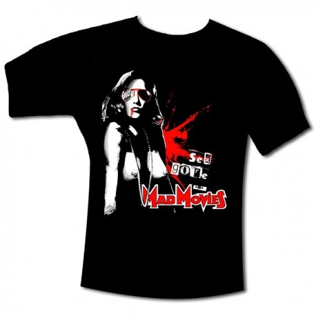 T-Shirt Mad Movies Sex Gore and Mad Movies